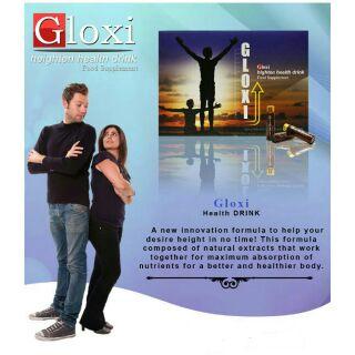 original gloxi height enhancer 30vials with cream