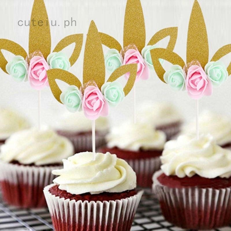 Astonishing Cupcake Topper Bunting Banner Party Happy Birthday Wedding Unicorn Birthday Cards Printable Nowaargucafe Filternl