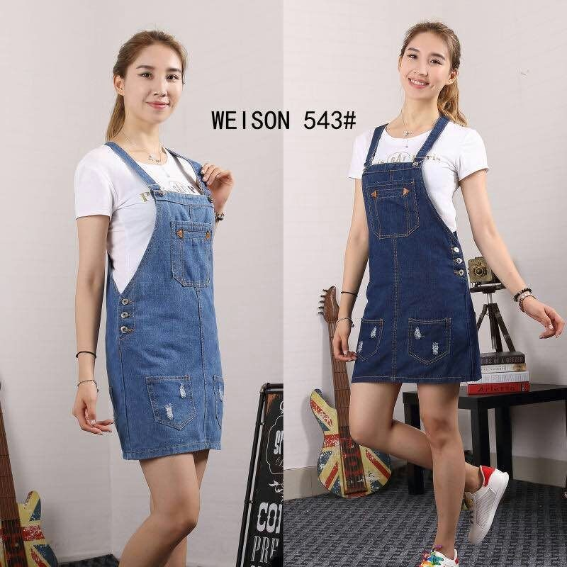3ac7a71d08 Denim Jumper dress