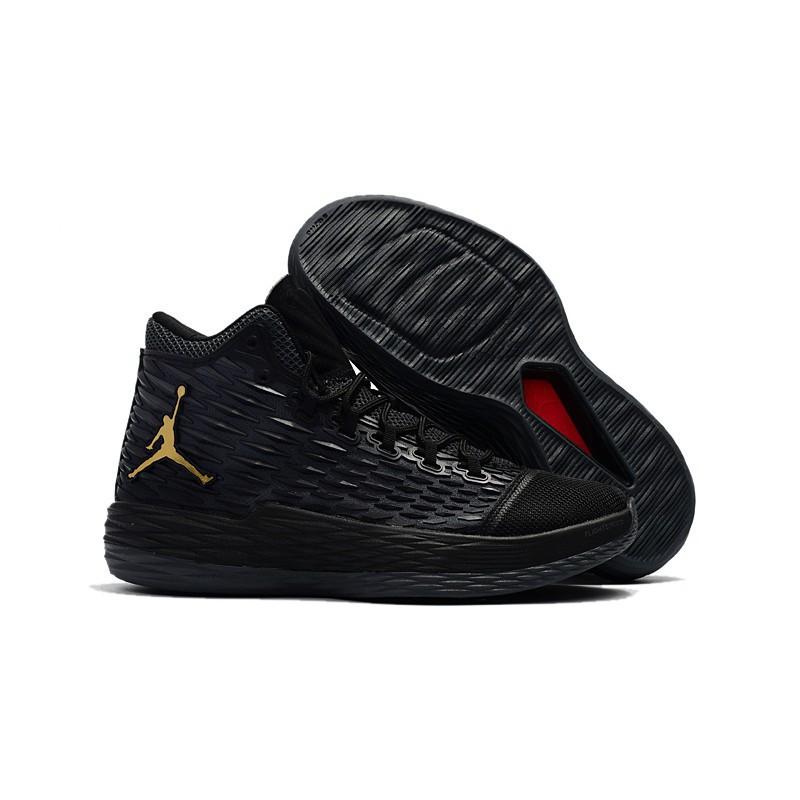 Jordan Melo M13 New Jordan Melo M13 Black Gold | Shopee Philippines