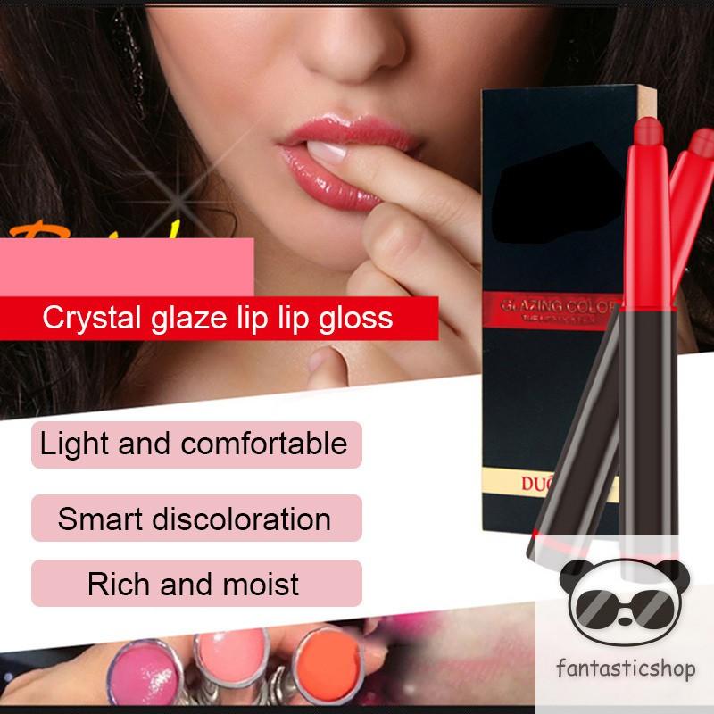 1 Pcs Women Lipstick Long Lasting Non-stick Moisturizing Fashion Makeup  Cosmetic