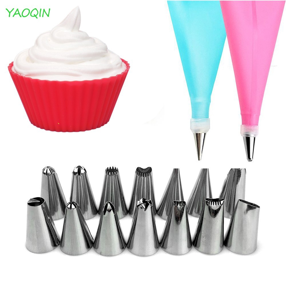 Icing Piping Cream Pastry Bags Nozzle