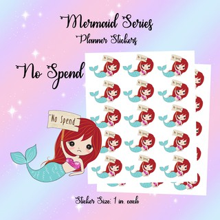 Planner Stickers - Mermaid Payday / Financial / Money / Save
