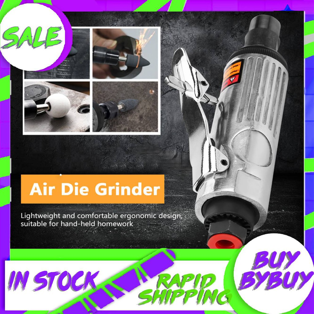 AT-7031 Home Improvement Power Tools 1//4in Air Angle Die Grinder Pneumatic Grinding Machine Cut Off Polisher