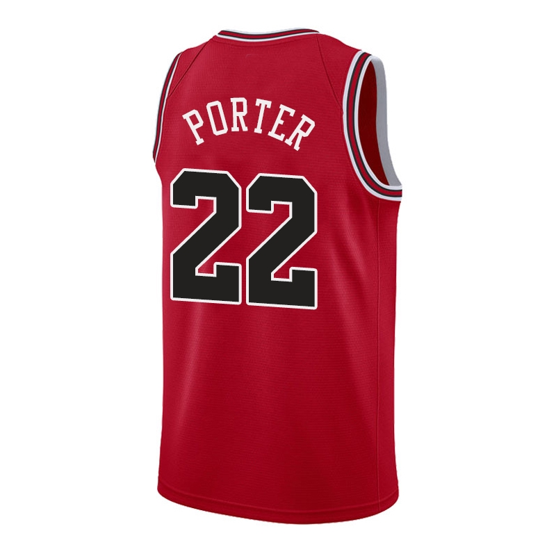 reputable site f2366 d9bfc Chicago Bulls NO22 Otto Porter Men Jersey Sports Tops