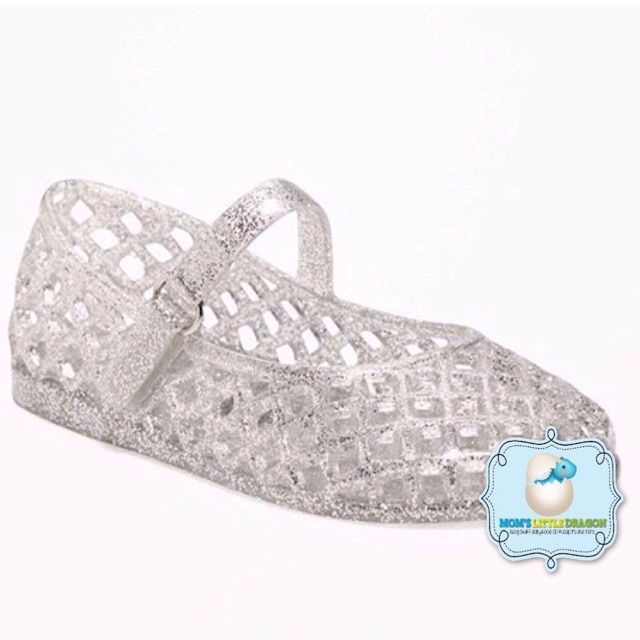 3f7cf520fdda Old Navy Mary Jane Jelly Sandals for Toddler Girls - Gold