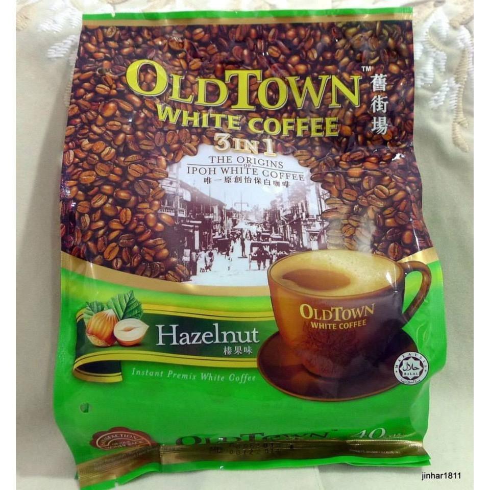 Old Town White Coffee Hazelnut Sho