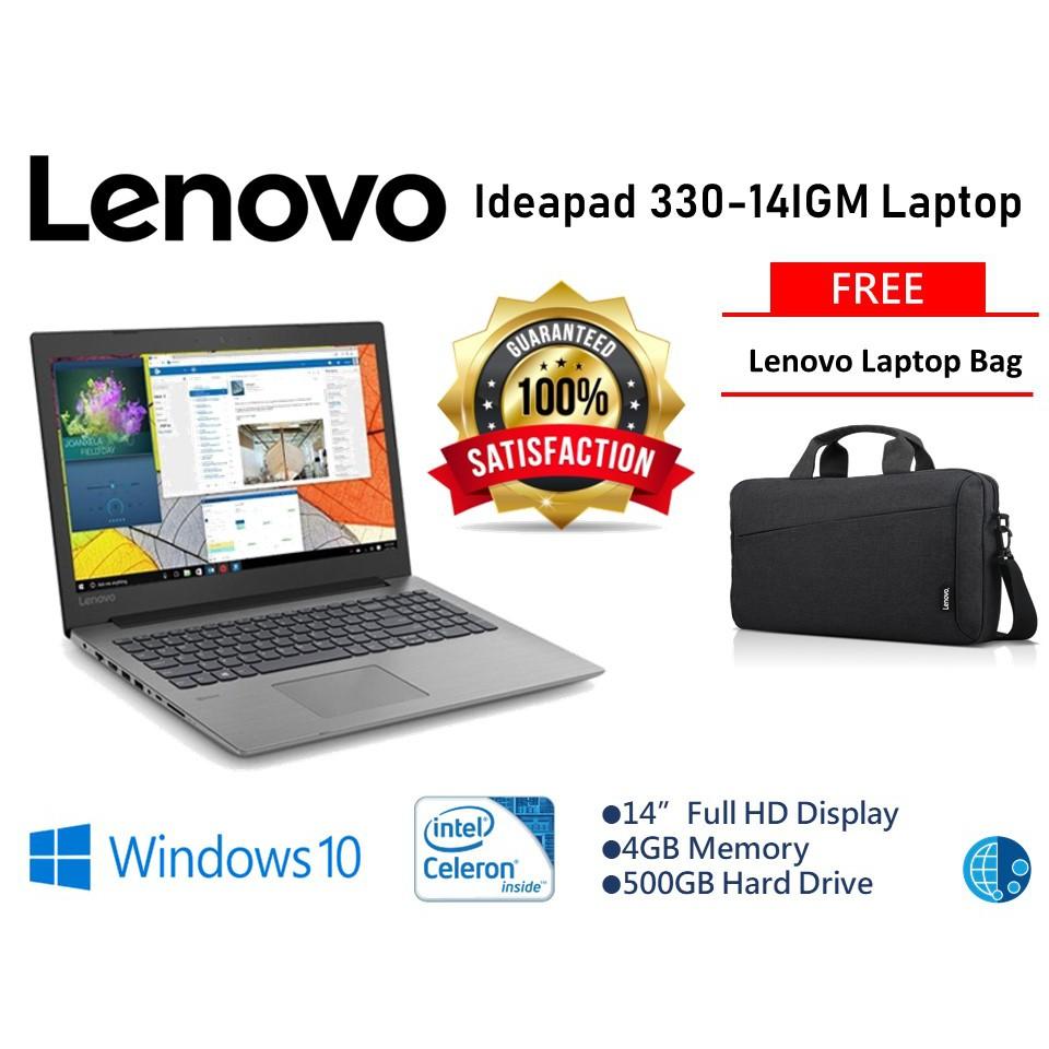 Lenovo Ideapad 330-14IGM Laptop