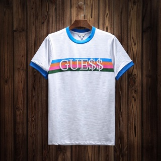 071e25cc4eb2 Guess x Asap Rocky Limited Edition Ringer Rainbow Top Shirt | Shopee  Philippines