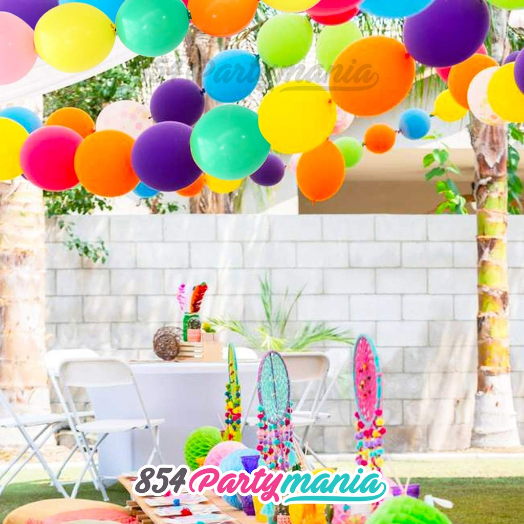 25pcs 12inch Linking Balloons Prolatex Link a loon connecting Party Decor  balloon