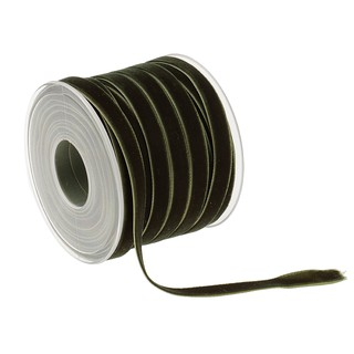 "Ribbon Velvet Craft Gift DIY Scrapbooking Findings Black 10 Yards 3//8/"" Wide"
