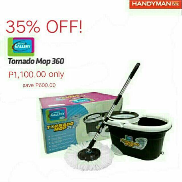 Original Home Gallery Tornado Mop 360