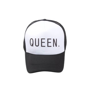 5f3f3c73 Shading Baseball Cap King Queen Hat Hip-hop Dancing Hats   Shopee ...