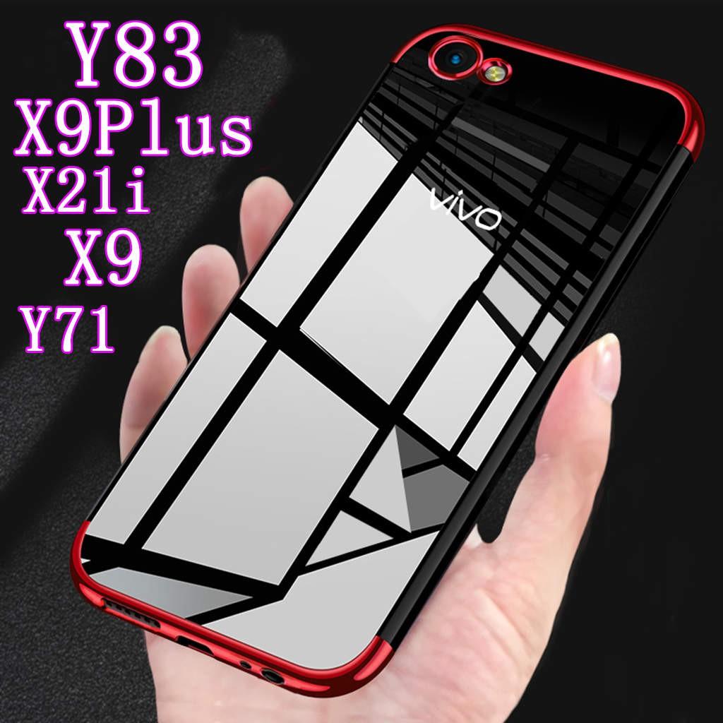 VIVO V7/ V7 Plus V7+ Clear Case Soft TPU Plating Ultra Slim | Shopee Philippines