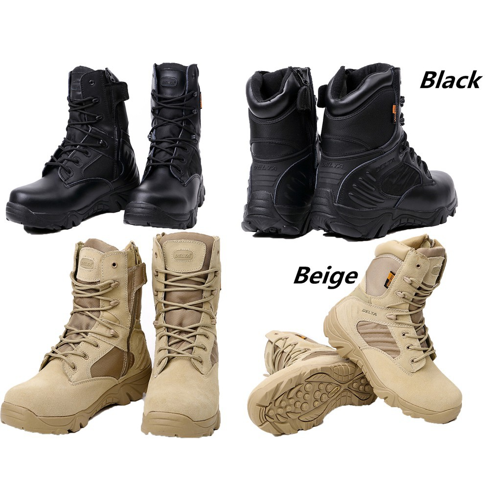 4168f2119f3 GcGctop Men Tactical Army Battle Combat Boots Military Shoes