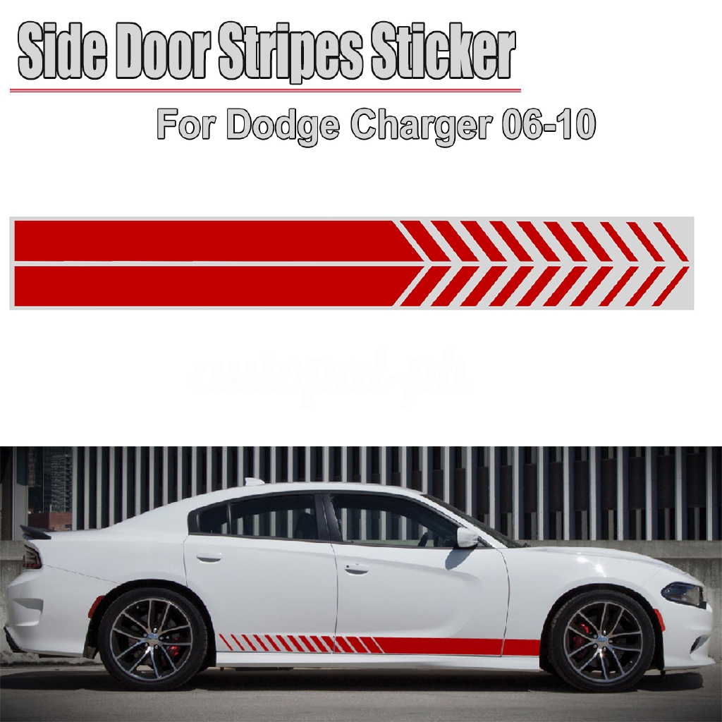 2 Sport Edition Rear Mirror Decal Racing DODGE FORD Car Door Handle Sticker F2