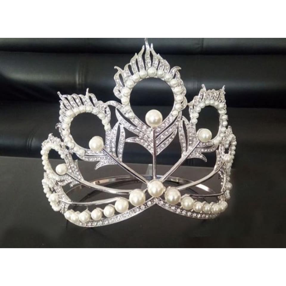 Miss Universe Crown Replica Mikimoto Pearl Crown Tiara