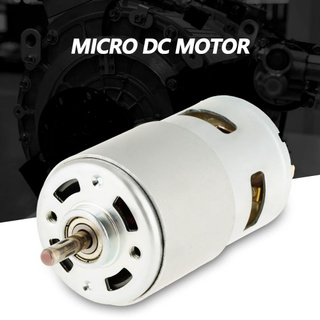 12/24V 30W High Speed CW/CCW Permanent Magnet DC Motor