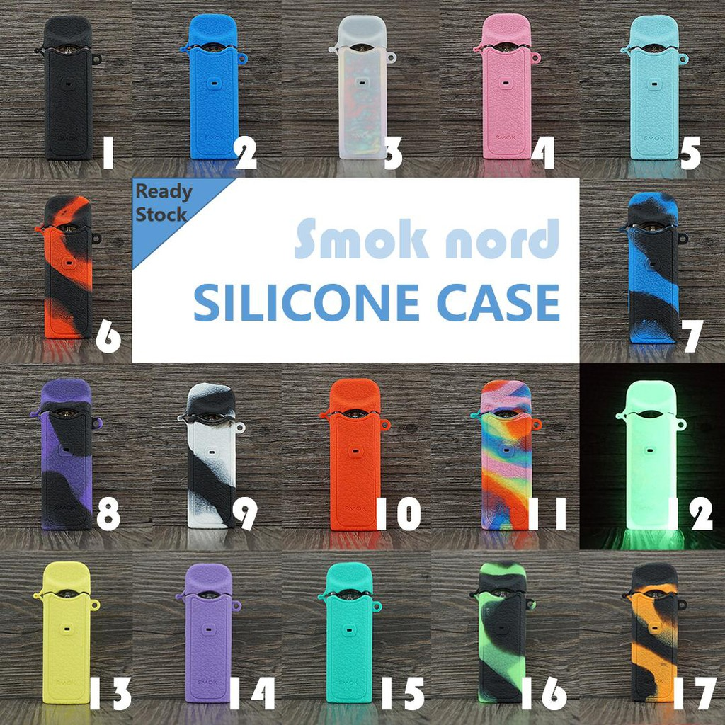 Smok Nord Silicone Case pod Kit Protective Durable cover skin sleeve decal