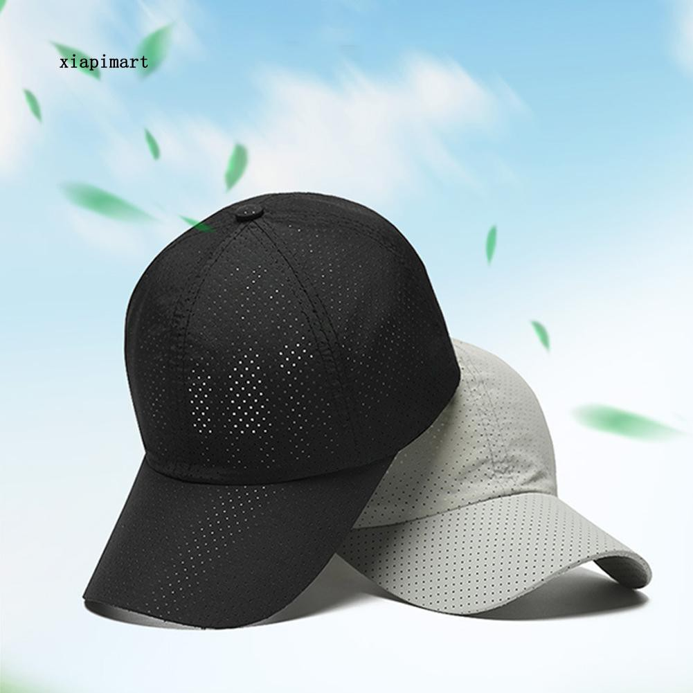 194837a4b LYY_Summer Unisex Quick Drying Breathable Baseball Cap Hat for Golf Fishing  Hiking