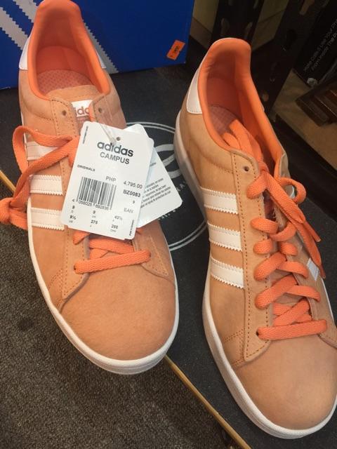 Standard An event Materialism  Adidas campus orange | Shopee Philippines
