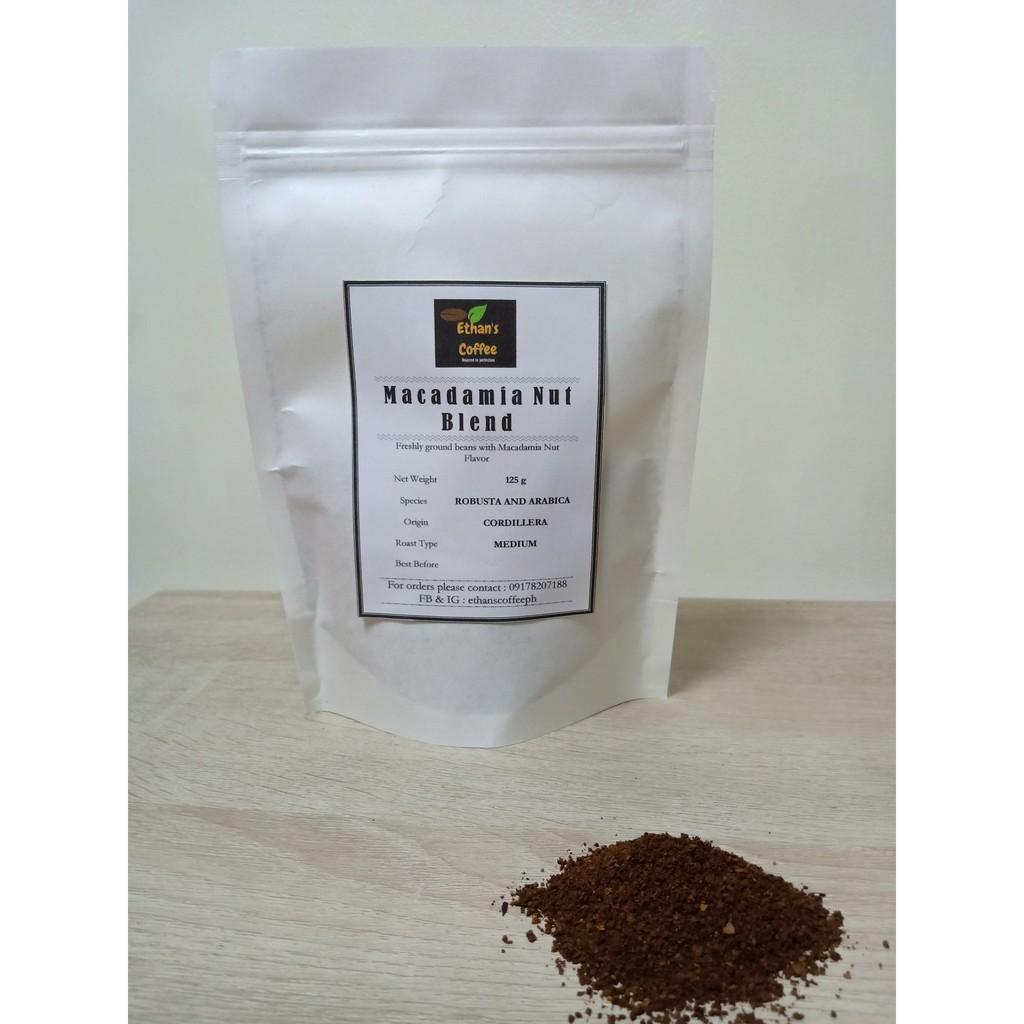 MACADAMIA NUT BLEND- Freshly Ground Coffee 100 g
