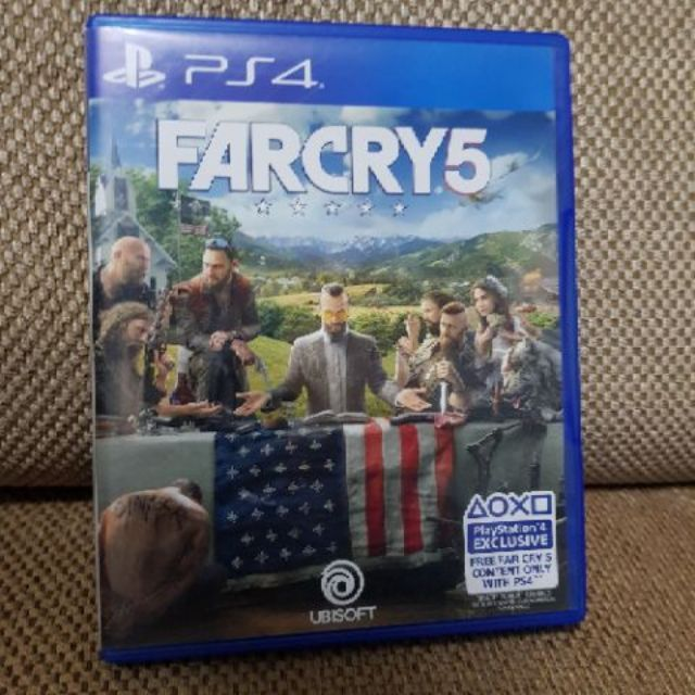 Farcry 5 Ps4 games, Farcry 5