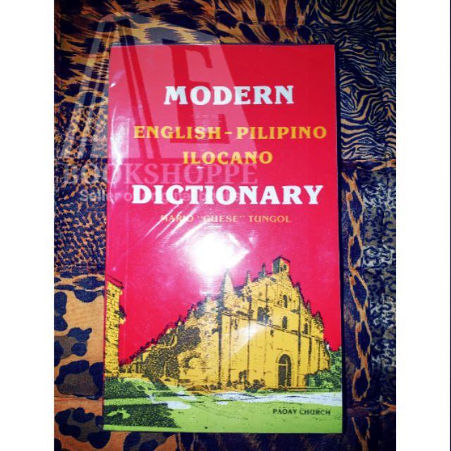 ORIG MODERN English-Pilipino-Ilocano Dictionary by Mario