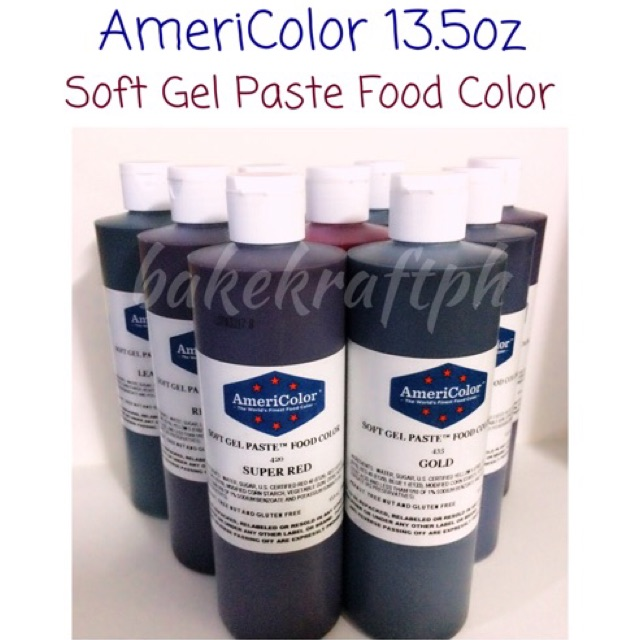 AmeriColor Soft Gel Paste Food Color 13.5oz | Shopee Philippines