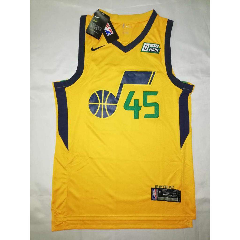 de6731c0630 NBA Utah Jazz 45 Donovan Mitchell Swingman jersey