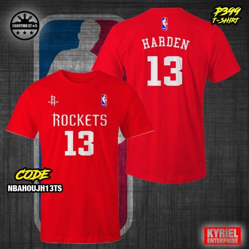 fa616be65ec6 NBA Houston Rockets James Harden The Beard Black Shirt