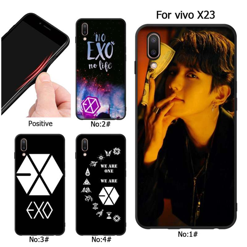 Kpop exo Lucky one Cover for Vivo Y53 Y66 X23