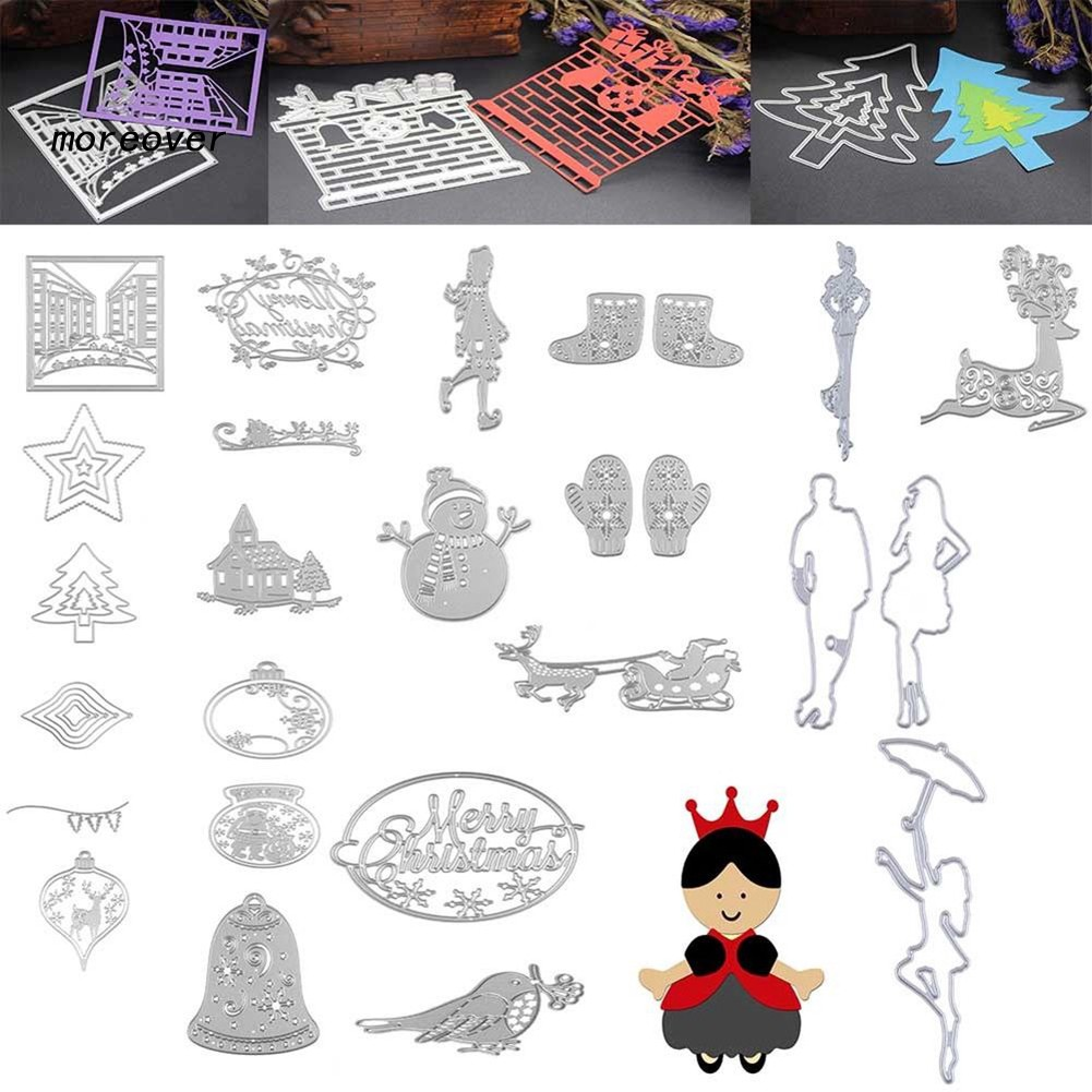 Metal Cutting Dies Stencils Scrapbooking Christmas Halloween Greeting Card Gift