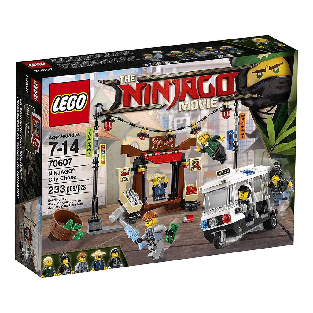 Chase Movie Ninjago Lloyd 70607 Kit City W Building Lego TkZiOPuX