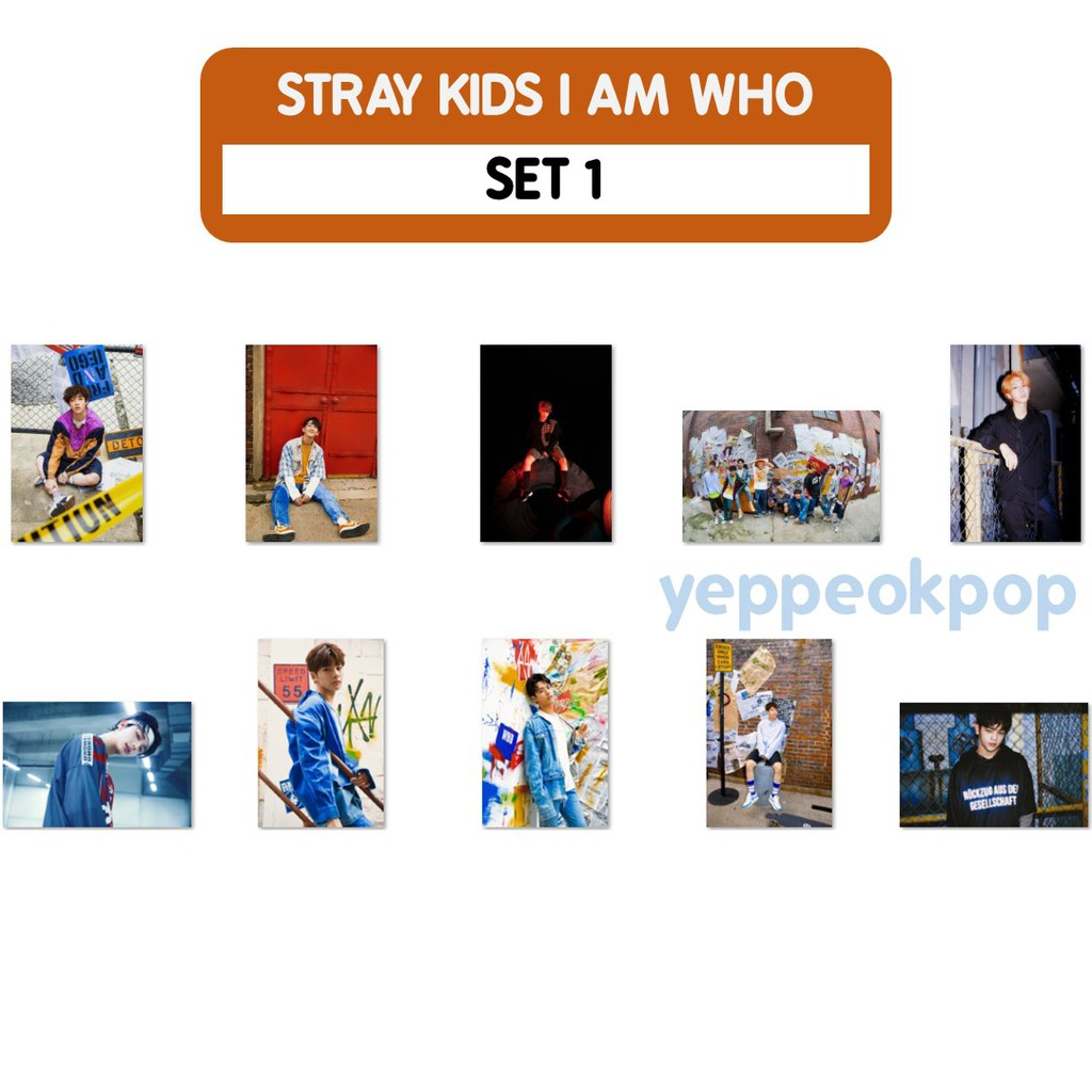 STRAY KIDS unofficial photocards