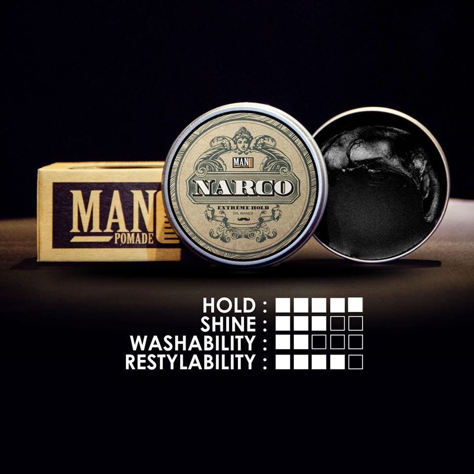 Narco Man Pomade (Extreme Hold OB)