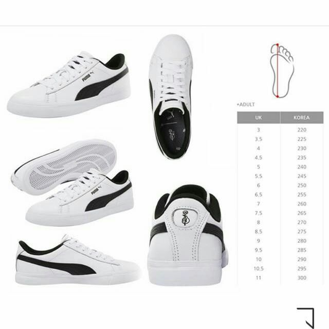 BTS PUMA Court Star Shoes   Shopee Philippines d03be66472df