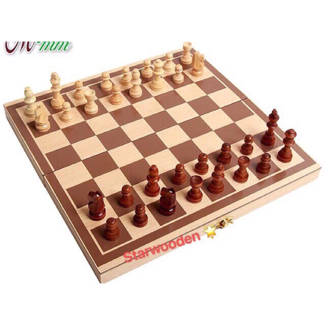 🌟Wooden chess board