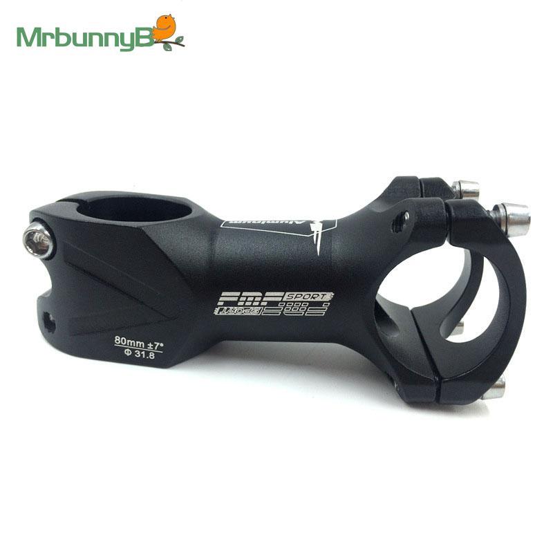 38mm Aluminium short stem MTB Mountain Bike Bicycle bar Stem 25.4//31.8 stems