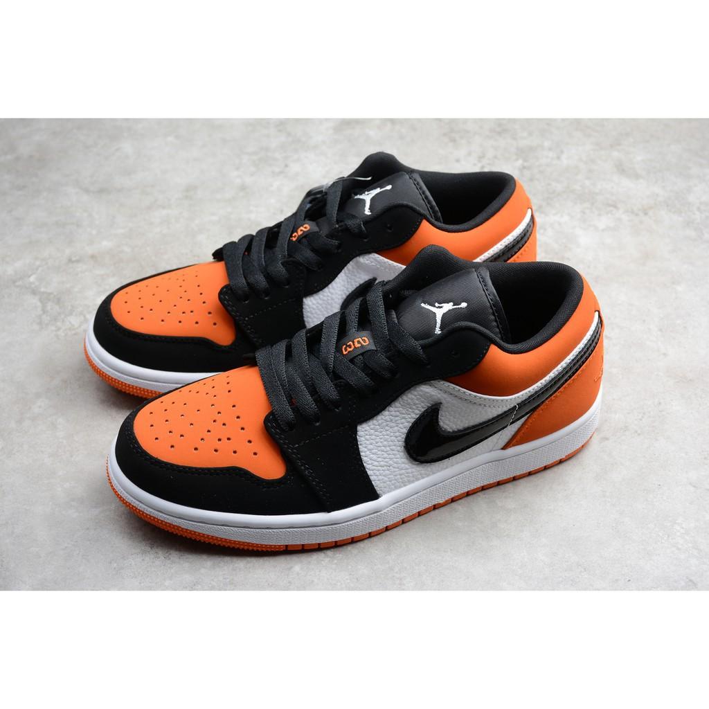 black orange and white jordan 1s buy clothes shoes online