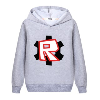 Fashion Hoodies Roblox Boys Sports Jacket Kids Cotton Sweater