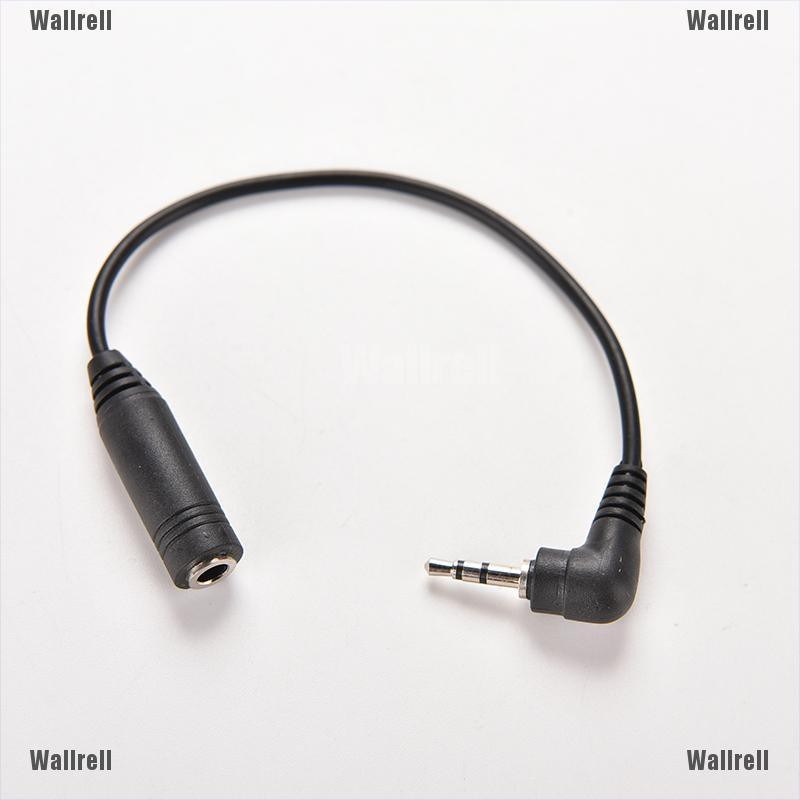 100pcs 2.5mm Male Plug to 3.5mm Female Jack Stereo Adapter