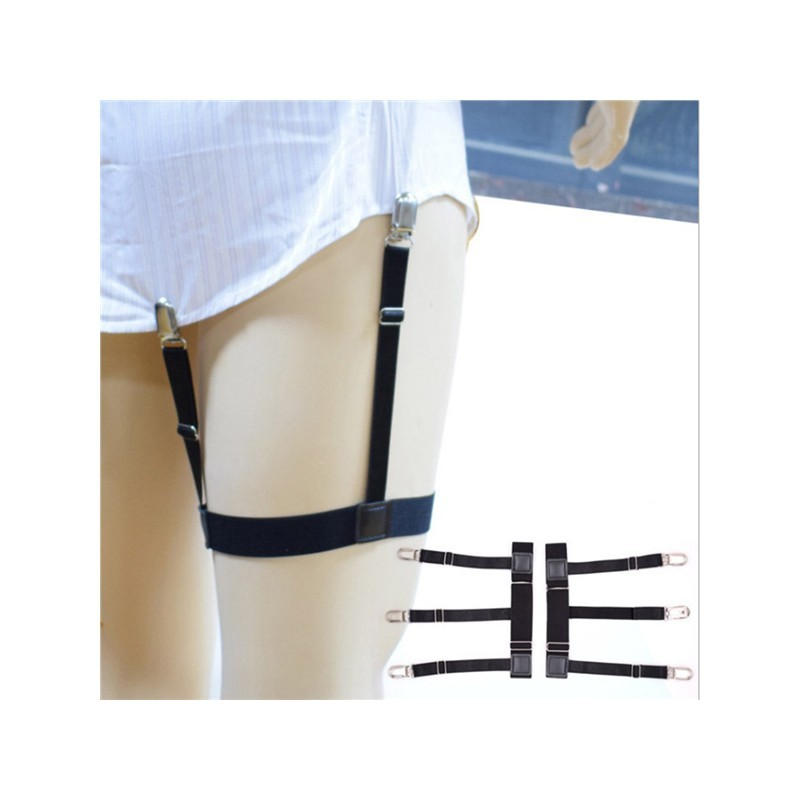 d344c6b17 Mens Stays Holders Elastic Shirt Garter Non-Slip Locking
