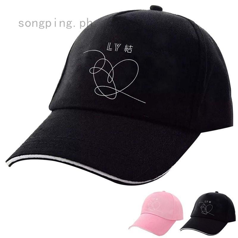 BTS Jungkook Jimin V Cap Bangtan Boys Love Yourself Answer Adjustable Baseball Cap Cotton Dad Hat