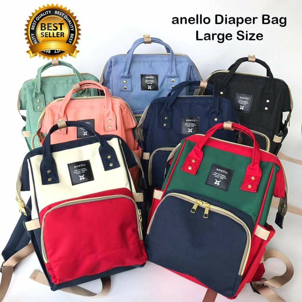 073a7450d0 Anello Baby Diaper Bag Backpack AUTHENTIC QUALITY