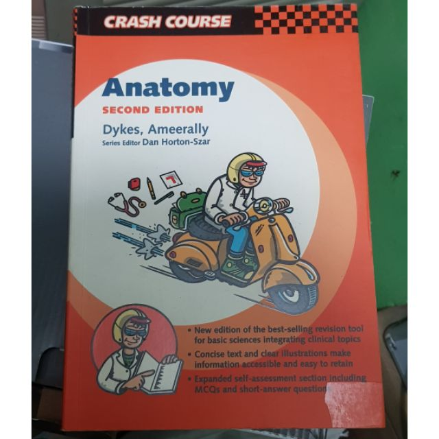 Anatomy Crash Course 2nd edition