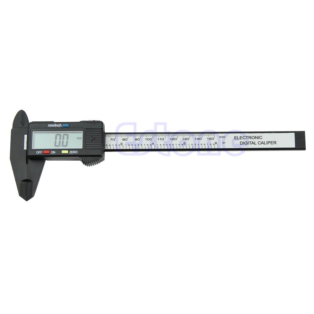 Plastic 150MM 6inch LCD Digital Electronic Vernier Caliper Gauge Micrometer HOT