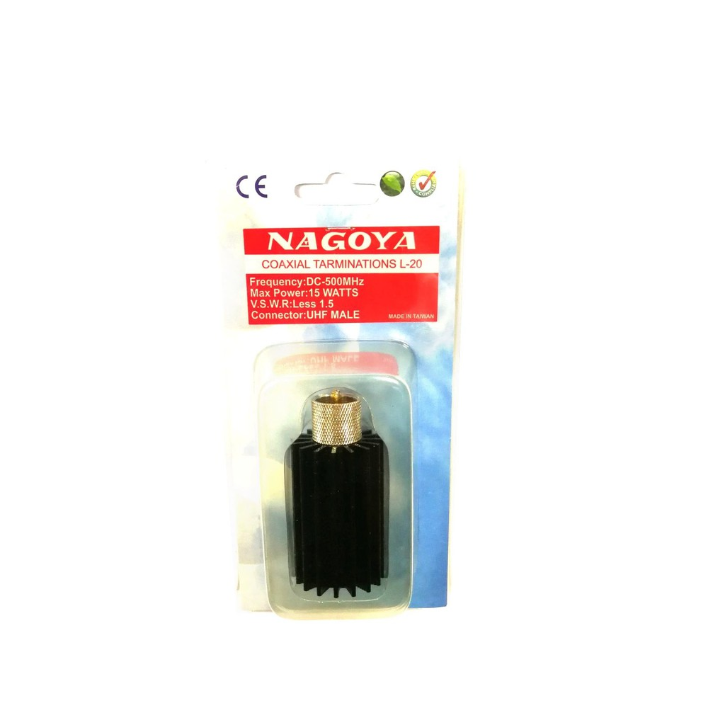 Nagoya L20/L-20 M Male connector Dummy Load for500Mhz Max15W
