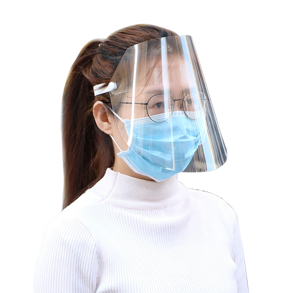 Safety Face Shield Clear Visor Full Face Shield Protector for Adult and Kids