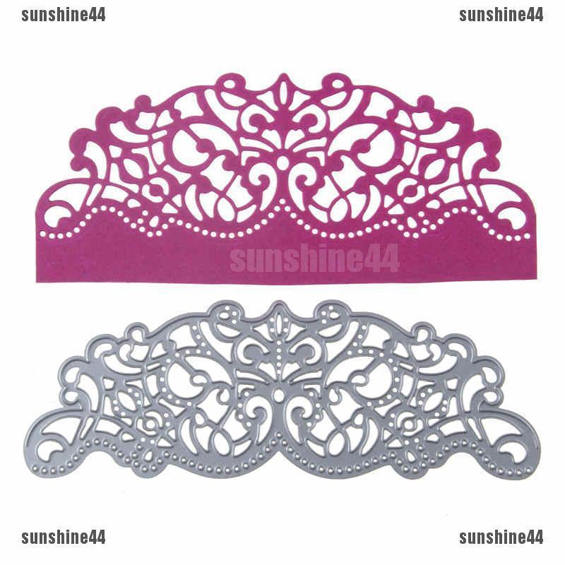 Cover Lace Design Metal Cutting Die For DIY Scrapbooking Album Paper Card TN